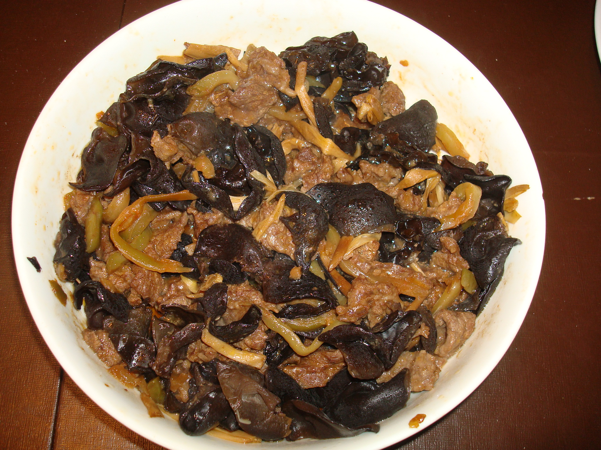 Lazy susans table steamed beef with cloud ear fungus and dried ive discovered that some of the most delicious foods have a combination of flavors my mothers savory steamed beef is one of them its salty and sweet izmirmasajfo